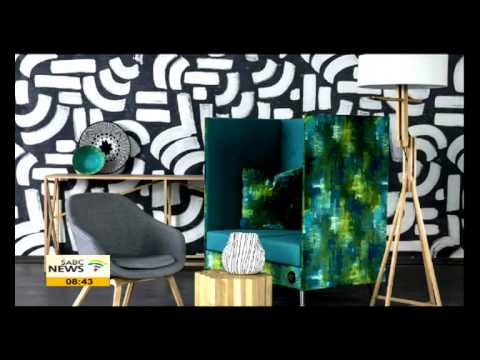 Cathy O' Clery on 100% Design South Africa showcase
