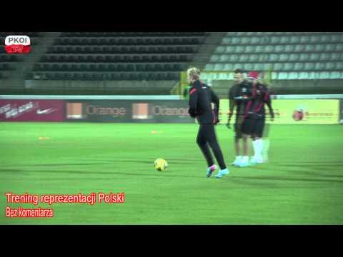 Piłka Nożna: Trening Reprezentacji Polski