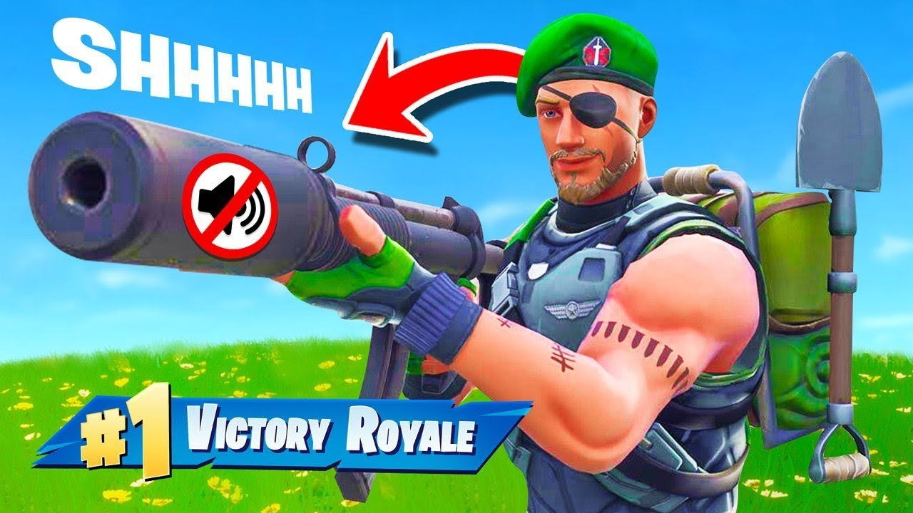 The SNEAKY Silencer Challenge in Fortnite Battle Royale!