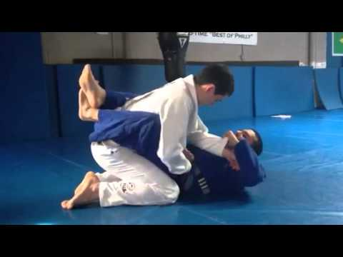 Sean V. Bradley Training Gracie Brazilian Jiu Jitsu