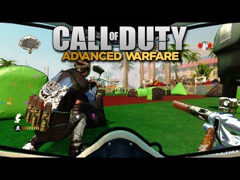 PAINTBALL MODE in Call of Duty: Advanced Warfare New Multiplayer Setting