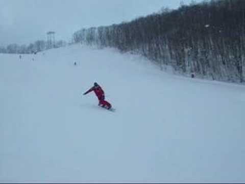 2008初滑り 朝里川温泉スキー場
