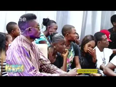 b-one Show 2015, Dauphin Bulamatadi recoit Serge de Langila