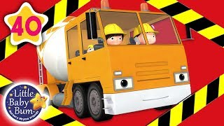 Construction Songs for Toddlers   London Bridge +More Nursery Rhymes & Kids Songs   Little Baby Bum