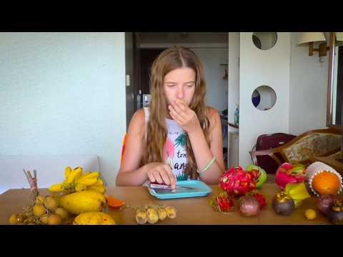 100 СЛОЕВ ФРУКТОВ CHALLENGE: ПРОБУЕМ ЭКЗОТИЧЕСКИЕ ФРУКТЫ ТАЙЛАНДА папайя маракуйя манго
