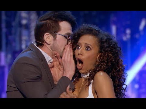 Mind Reader Tells Mel B's Her Darkest Secret | Judge Cut 2 | America's Got Talent 2017