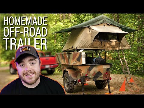 I bought an off-road trailer!