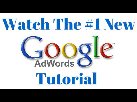 Google AdWords Tutorial March 2016! How to Make Google Search Ads and do YouTube Video Advertising!