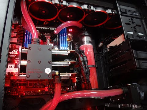 Ridiculous Water Cooled Gaming PC Build - 3 Way SLI - ASUS GTX780 - Corsair 900D