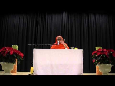 Daksinamurti Stotram Day 2 Dec 5 2013 SF Bay Area Swami Tattvavidananda...