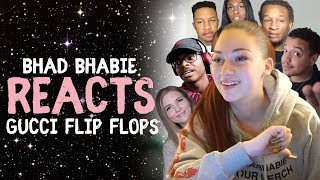 Danielle Bregoli Reacts To Bhad Bhabie 34 Gucci Flip Flops 34 Roast And Reaction Vids