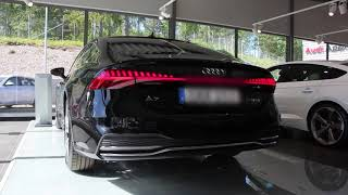New Mythos black  Audi A7 Sportback 55 TFSI 340 PS|Start up| sound|dynamic turning signal etc