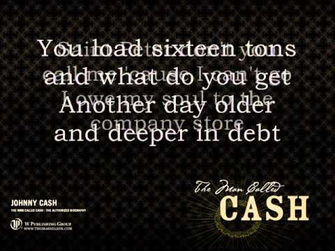 Johnny Cash - Sixteen Tons