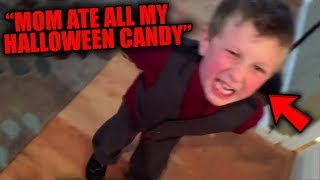 Top 10 CRAZIEST Halloween Candy Meltdowns CAUGHT ON CAMERA!