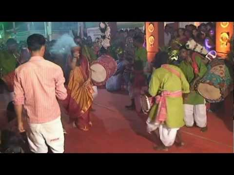 Dhanuchi Dance   Durga Puja 2012 video