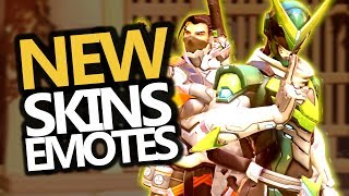 ALL NEW SKINS! Emotes & Voicelines (Overwatch Anniversary Event)