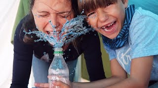 Splash Prank with Mommy