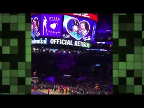 Cameron Diaz and Benji Madden on kiss cam!