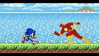 Sonic Vs Flash