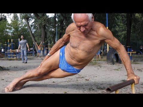 Amazing 75 Year Old Man - workout motivation 50+ | IRON LAND