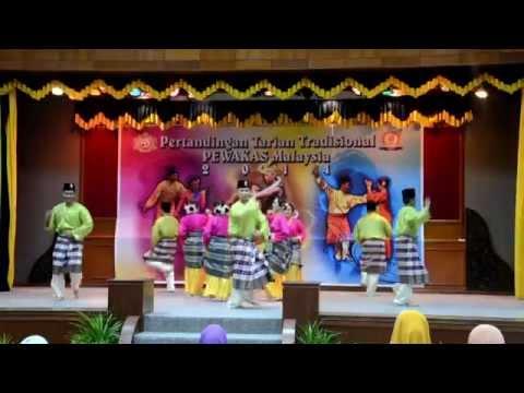 Pertandingan Tarian Tradisional 2014 johan : Johor video