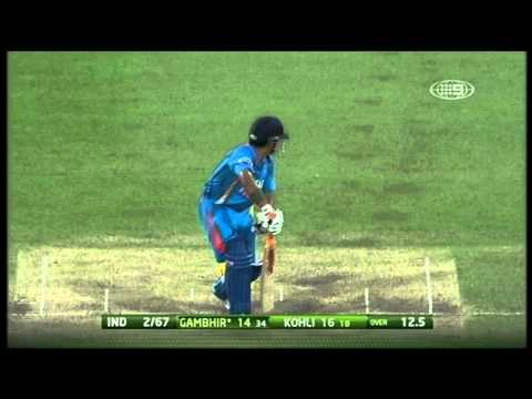 Commonwealth Bank Series Match 10 Australia vs India - Highlights