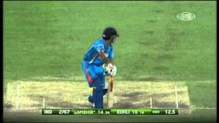 Commonwealth Bank Series Match 10 Australia vs India - Highlights