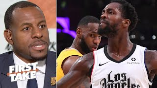 Andre Iguodala analyzes the Lakers & Clippers' race for the NBA title | First Take