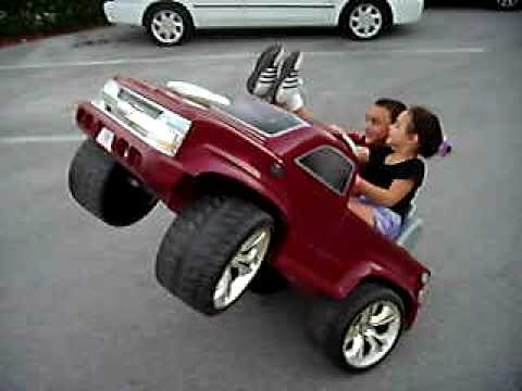 power  wheels wheelie girl Music Videos