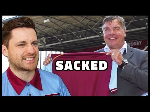 MY REACTION TO BIG SAM LEAVING WEST HAM!