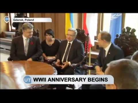 WWII Anniversary Begins: Ban, Poroshenko join European heads for Gdansk events