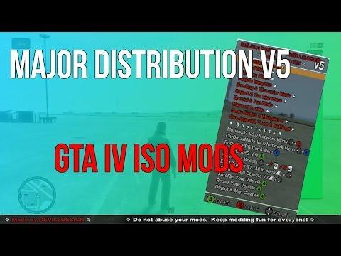 GTA IV - Major Distribution v5 Mod Loader (Xbox 360 / PS3)