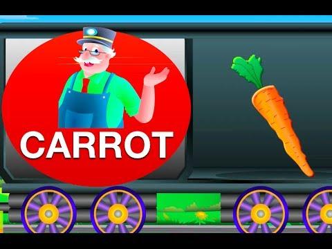 Vegetable Train - Mr.Bell's Learning Train | Learning For Children