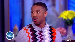 Michael B. Jordan Talks