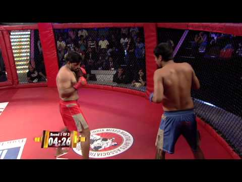 MMA in India: Super Fight League 18 - Samarveer Mavi  Vs Sandeep Kumar