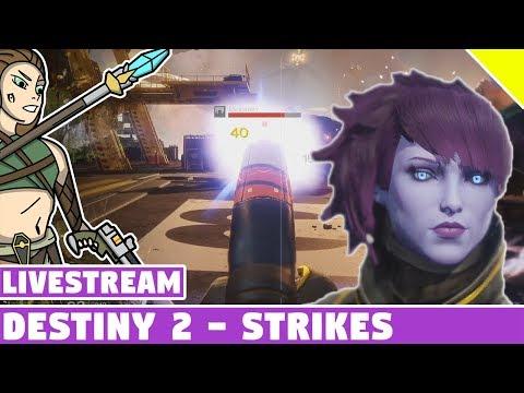 Destiny 2 Strikes - My First Ever Strikes!