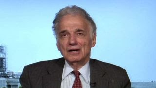 Ralph Nader: Trump will be the one to sink himself