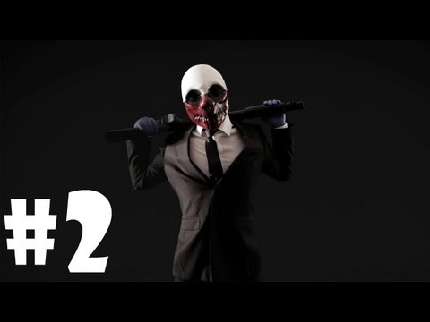 Играем в Payday: The Heist - Серия 2 (Погоня)