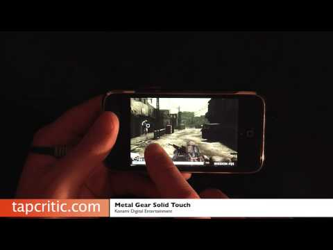 Visit us at TapCritic review of the app Metal Gear Solid Touch.This is a de