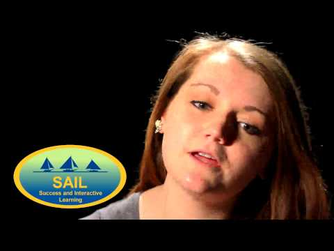 Chesapeake College student Rachel SAILs to Success