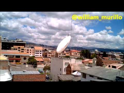 Dirigible de FAE sufre accidente en Cuenca 2 de nov 2012