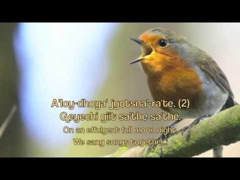 Bengali Prabhat Samgiita - Tumi Je Baste Bhalo Na video