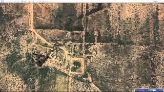 Свастики и круги на земле в Америке вокруг Розуэлл 01