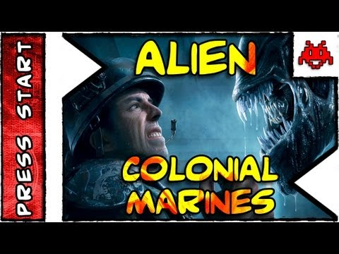 PRESS START . Aliens Colonial Marines . Primeiras Impressões e Meia Hora . Gameplay . HD