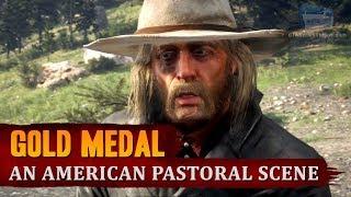 Red Dead Redemption 2 - Mission #22 - An American Pastoral Scene [Gold Medal]