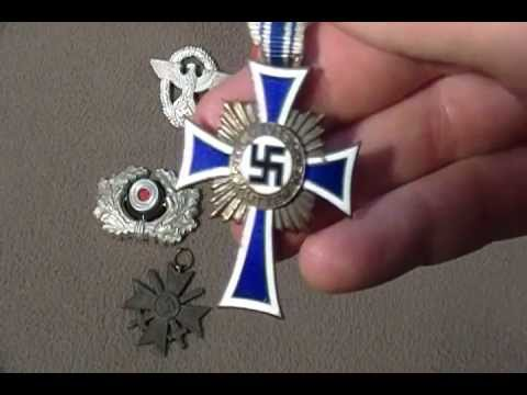 Ww2 nazi german badge medal collection army police mothers cross war merit cross - German military decorations ww2 ...
