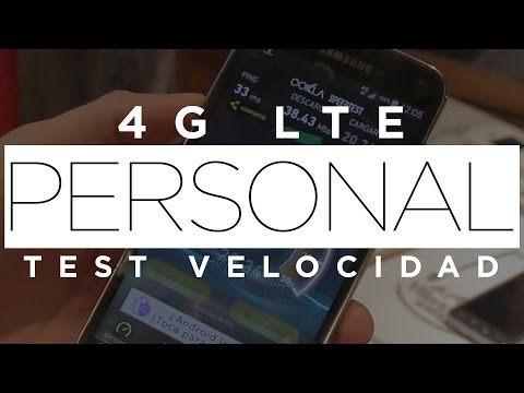4G LTE Personal Argentina | Test de velocidad
