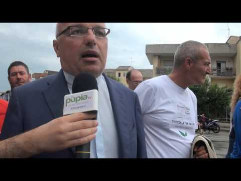 ''No puzza'' - Don Antonio Lucariello, parroco di Carinaro (11.09.14)