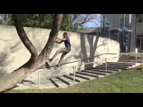 Mikey Taylor Tries Double Kinker and Hits Face on Tree