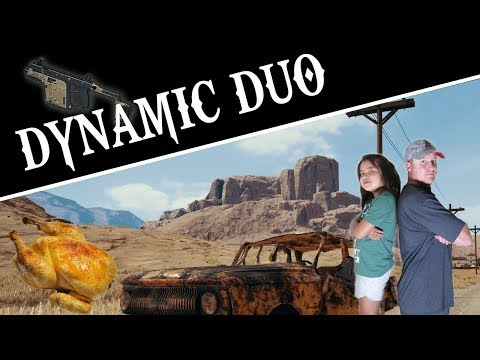 Dynamic Duo - GLITCH GAMING - PUBG Mobil Gaming - Player Unknown's Battle Ground - Father & Daughter
